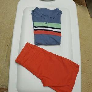Gymboree polo and shorts 8